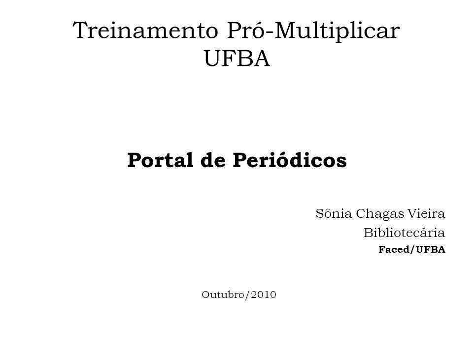 Treinamento Pró-Multiplicar UFBA