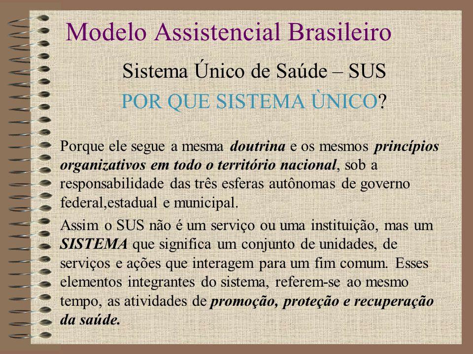 Modelo Assistencial Brasileiro