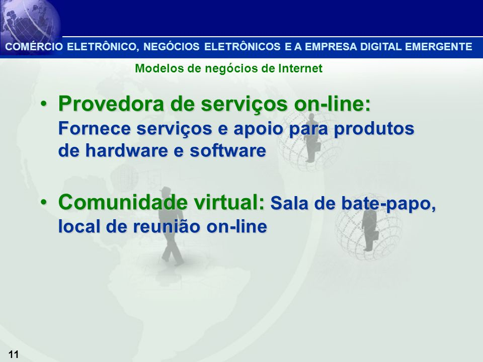 Comunidade virtual: Sala de bate-papo, local de reunião on-line