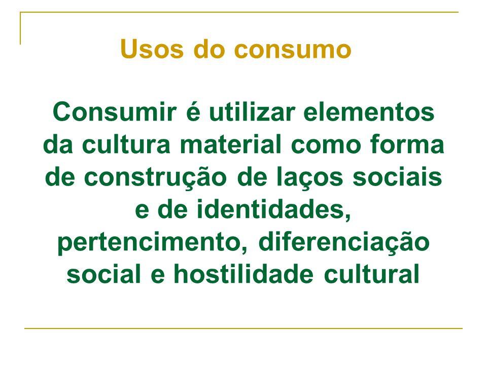 Usos do consumo