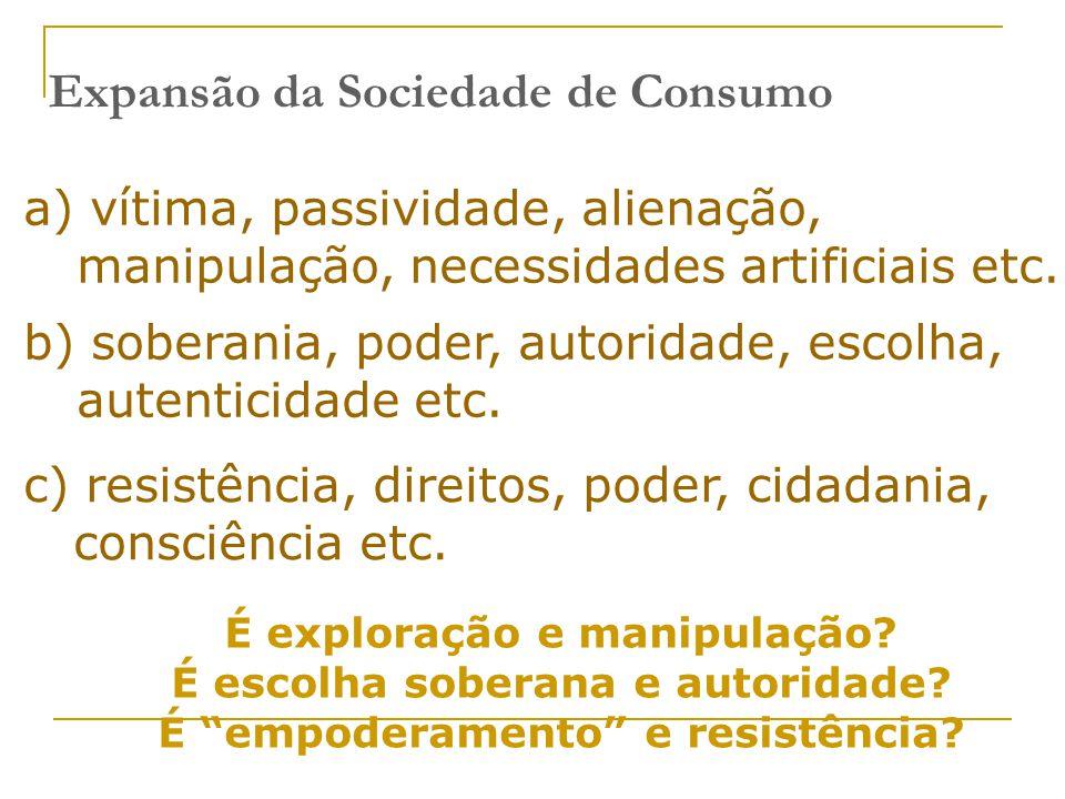 Expansão da Sociedade de Consumo