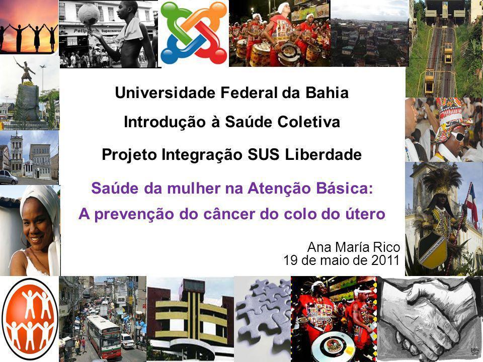 Universidade Federal da Bahia Introdução à Saúde Coletiva