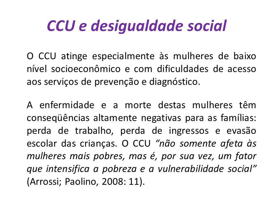 CCU e desigualdade social