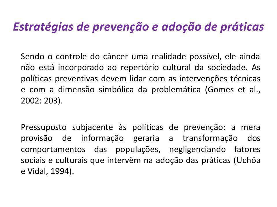 Estratégias de prevenção e adoção de práticas