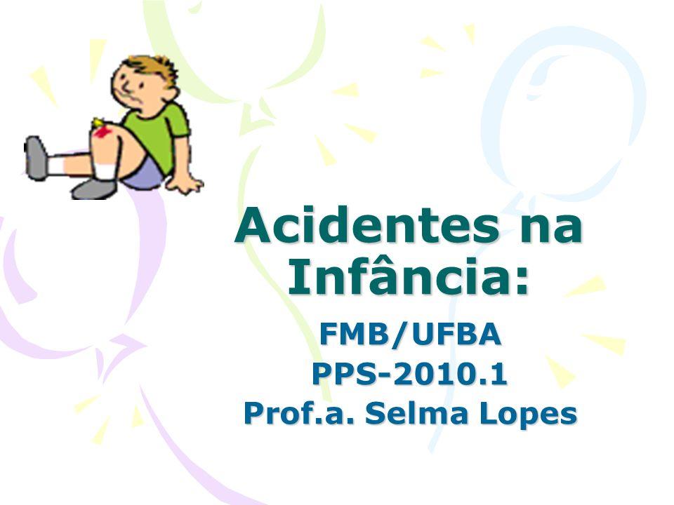 Acidentes na Infância:
