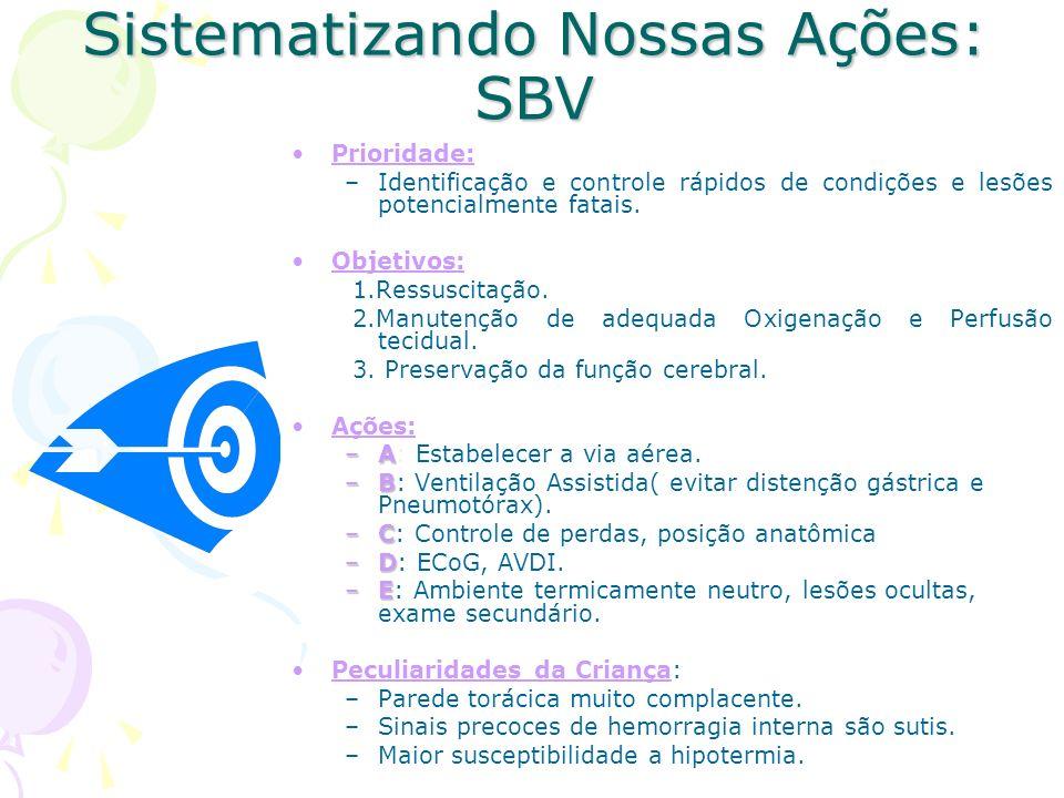 Sistematizando Nossas Ações: SBV