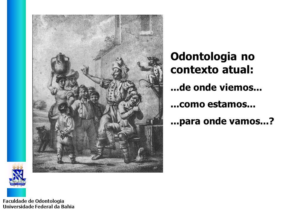 Odontologia no contexto atual: