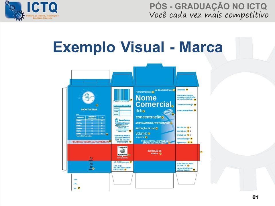 Exemplo Visual - Marca 61