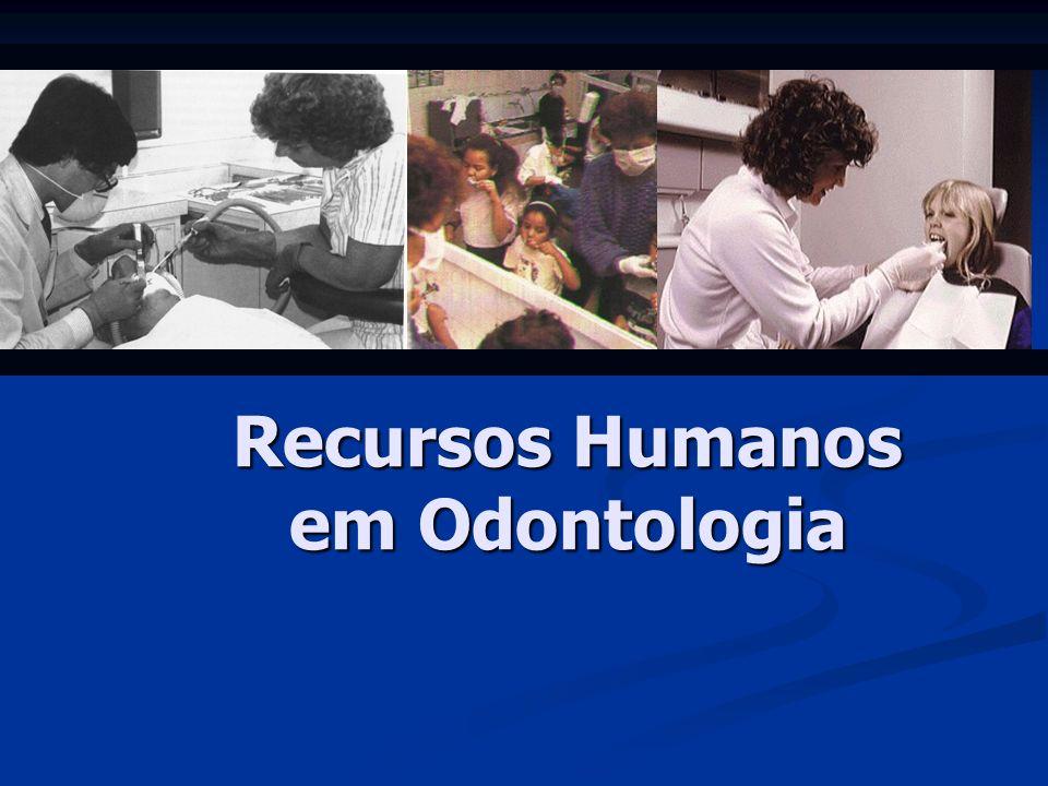 Recursos Humanos em Odontologia