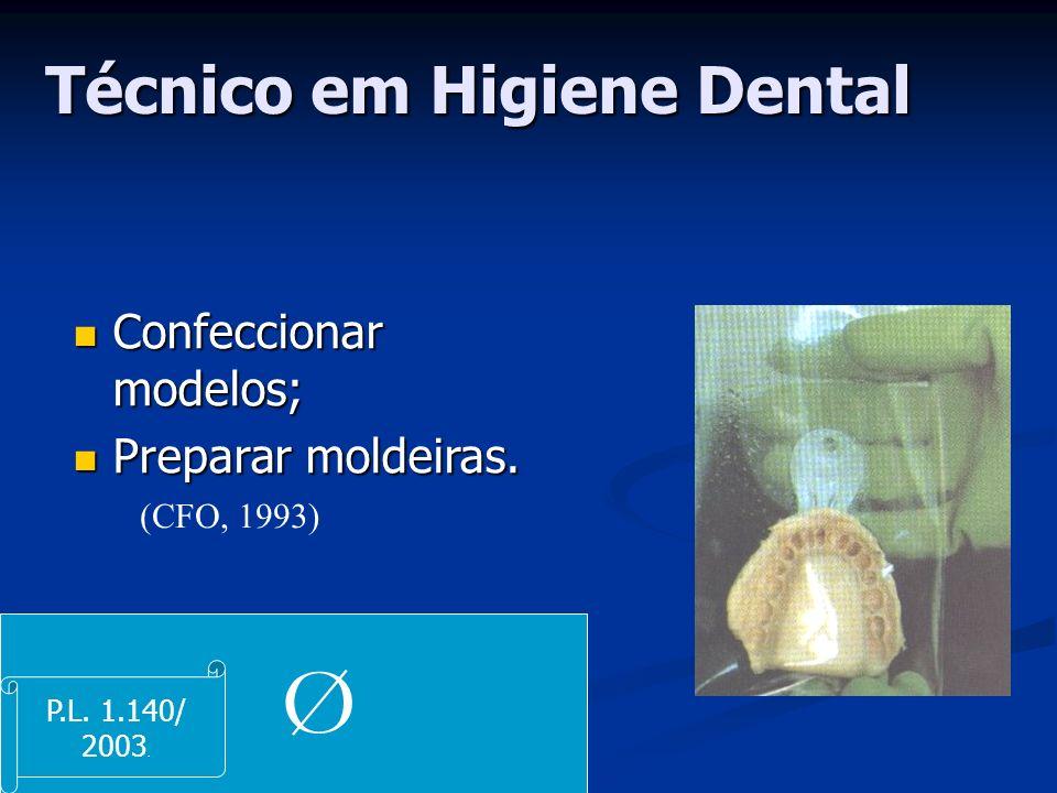 Técnico em Higiene Dental