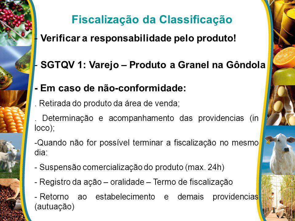 Fiscalização da Classificação