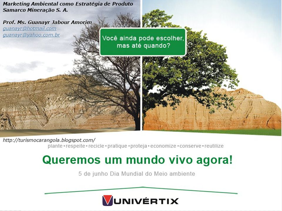 Marketing Ambiental como Estratégia de Produto