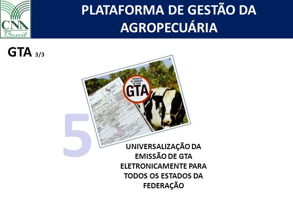 GTA 3/3 5 UNIVERSALIZAÇÃO DA EMISSÃO DE GTA ELETRONICAMENTE PARA TODOS OS ESTADOS DA FEDERAÇÃO