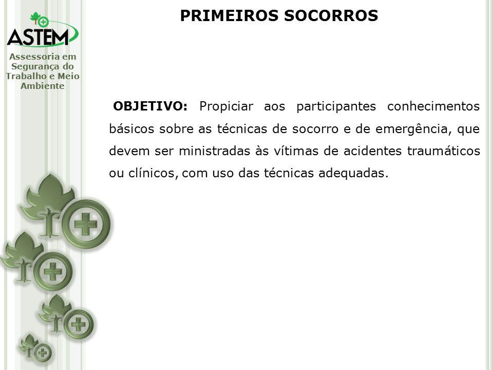PRIMEIROS SOCORROS