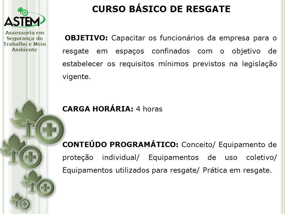 CURSO BÁSICO DE RESGATE