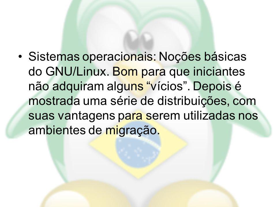 Sistemas operacionais: Noções básicas do GNU/Linux