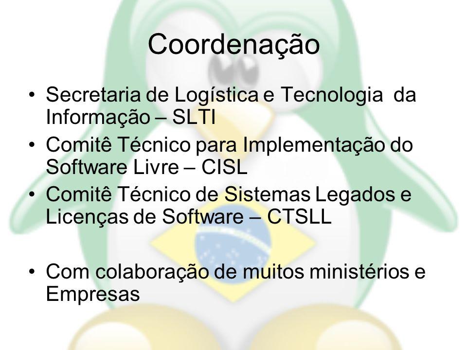 Coordenação Secretaria de Logística e Tecnologia da Informação – SLTI