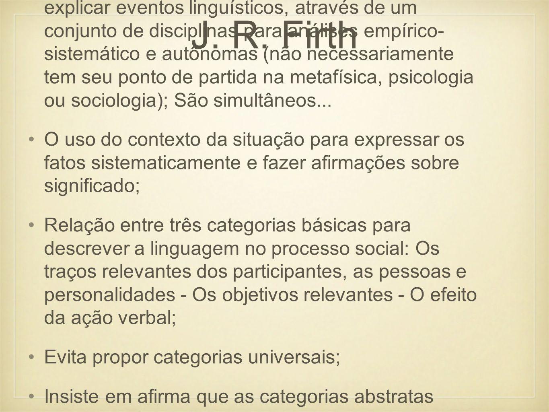 J. R. Firth