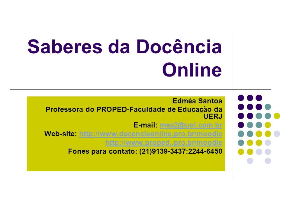 Saberes da Docência Online