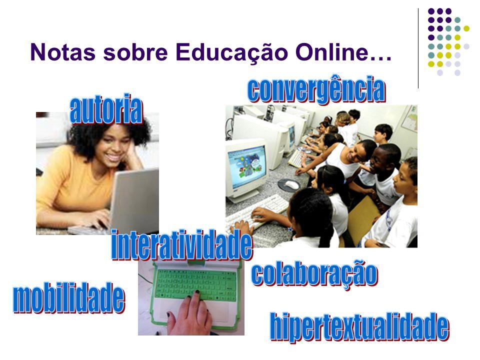 Notas sobre Educação Online…