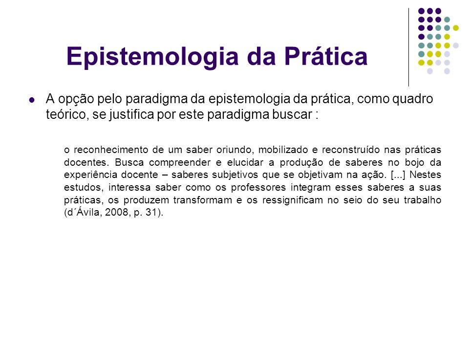 Epistemologia da Prática