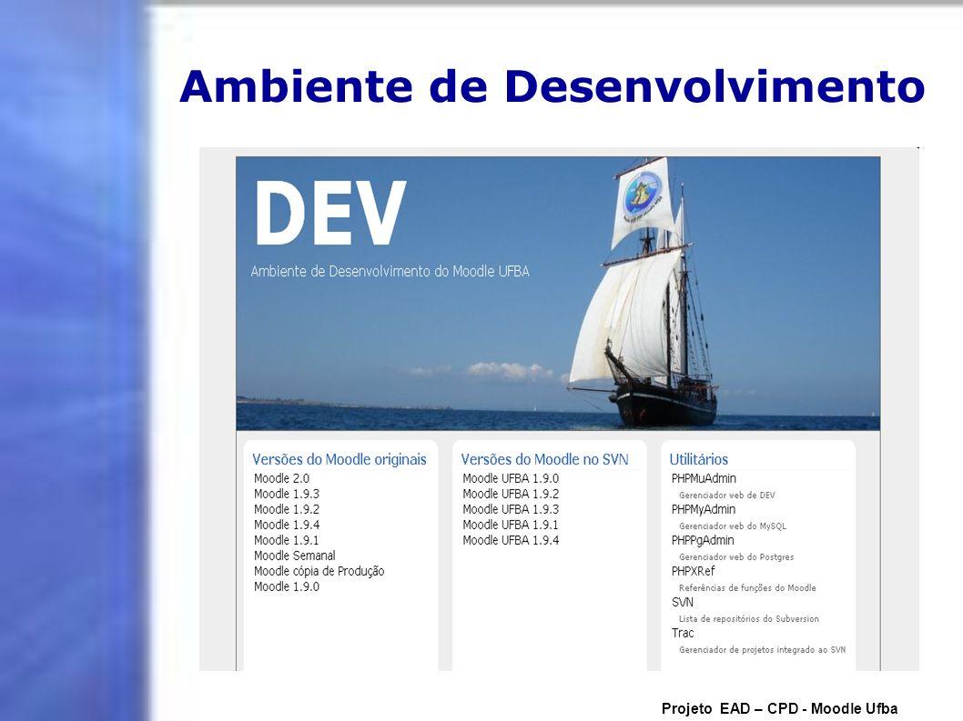 Ambiente de Desenvolvimento
