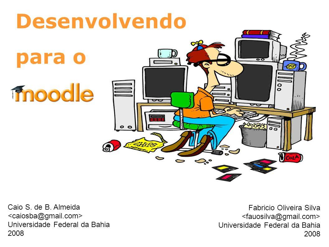 Desenvolvendo para o Caio S. de B. Almeida Fabricio Oliveira Silva