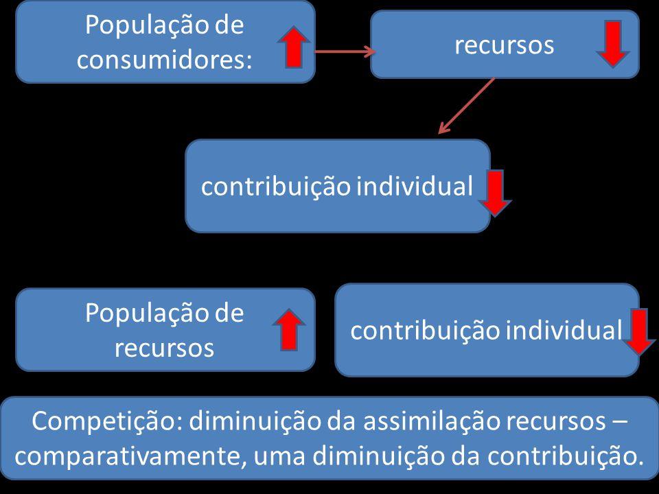 População de consumidores: recursos