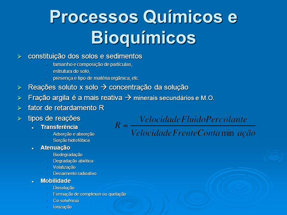 Processos Químicos e Bioquímicos