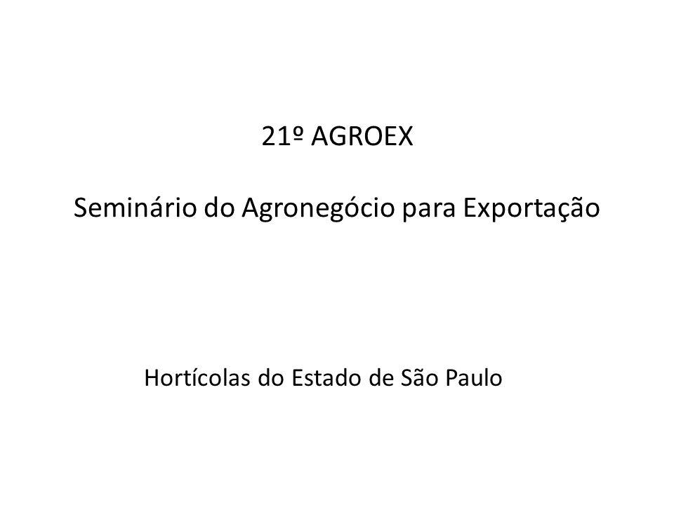 21º AGROEX Seminário do Agronegócio para Exportação