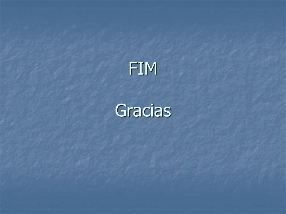FIM Gracias
