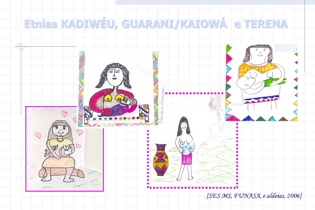 Etnias KADIWÉU, GUARANI/KAIOWÁ e TERENA