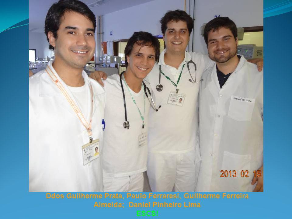 Ddos Guilherme Prata, Paulo Ferraresi, Guilherme Ferreira Almeida; Daniel Pinheiro Lima