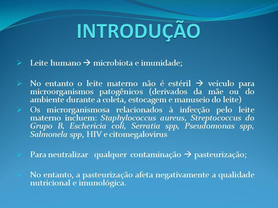 Leite humano  microbiota e imunidade;