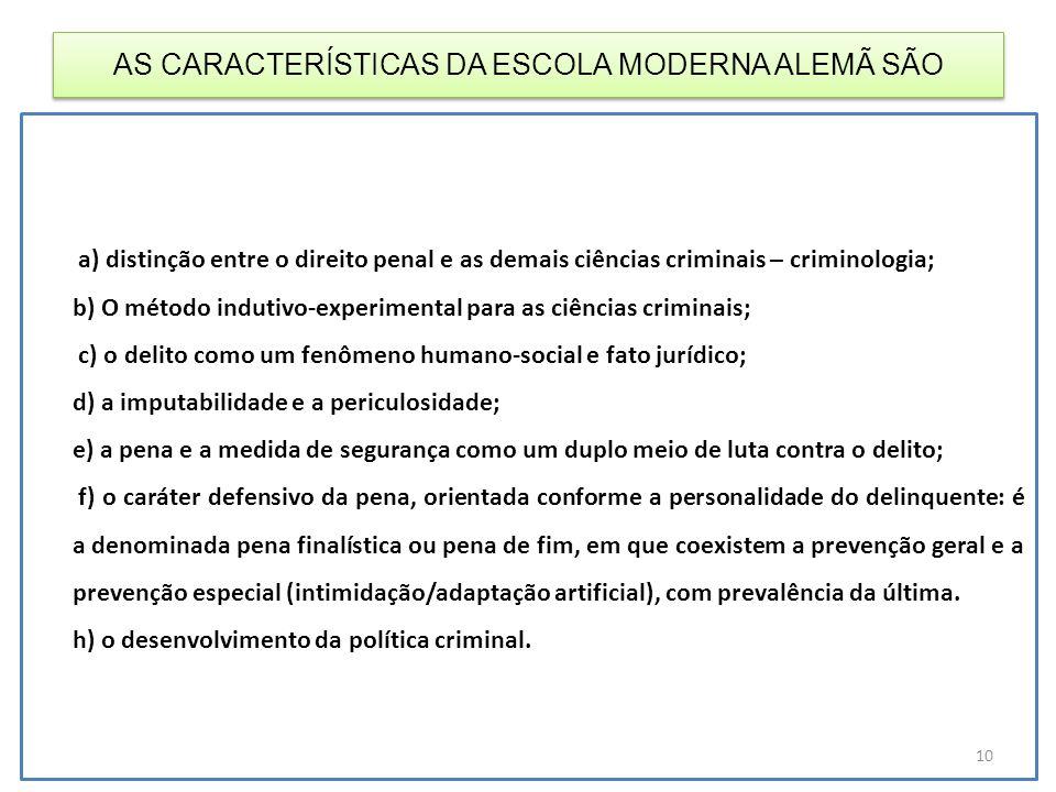 AS CARACTERÍSTICAS DA ESCOLA MODERNA ALEMÃ SÃO