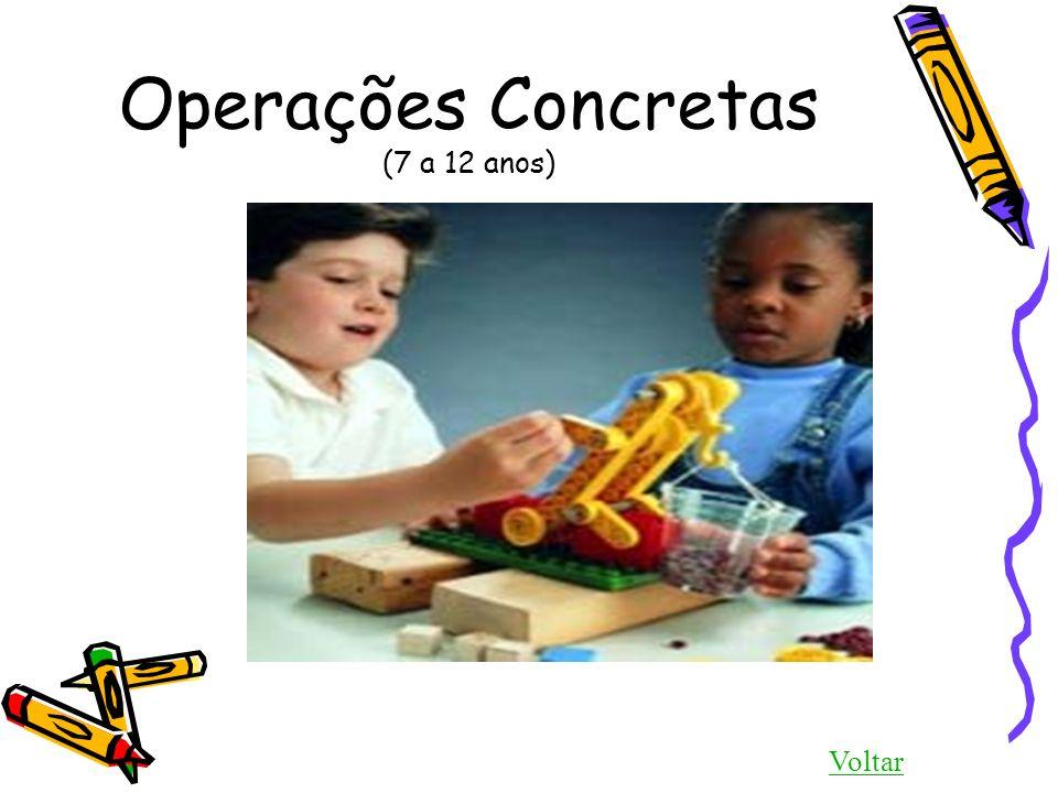 Operações Concretas (7 a 12 anos)