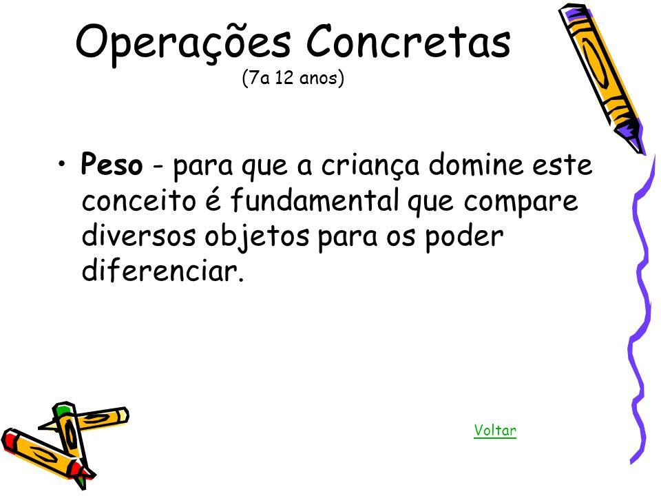 Operações Concretas (7a 12 anos)
