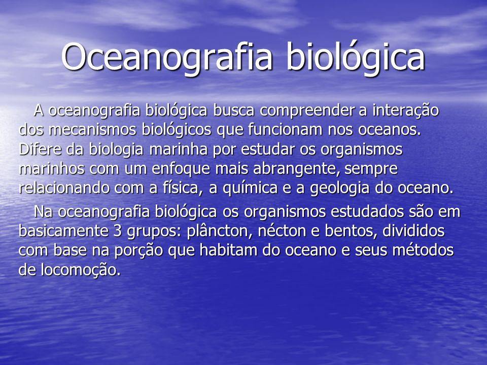 Oceanografia biológica