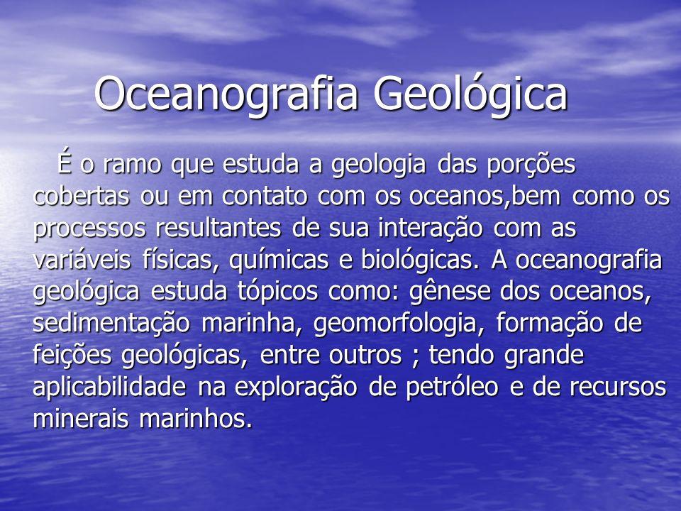Oceanografia Geológica