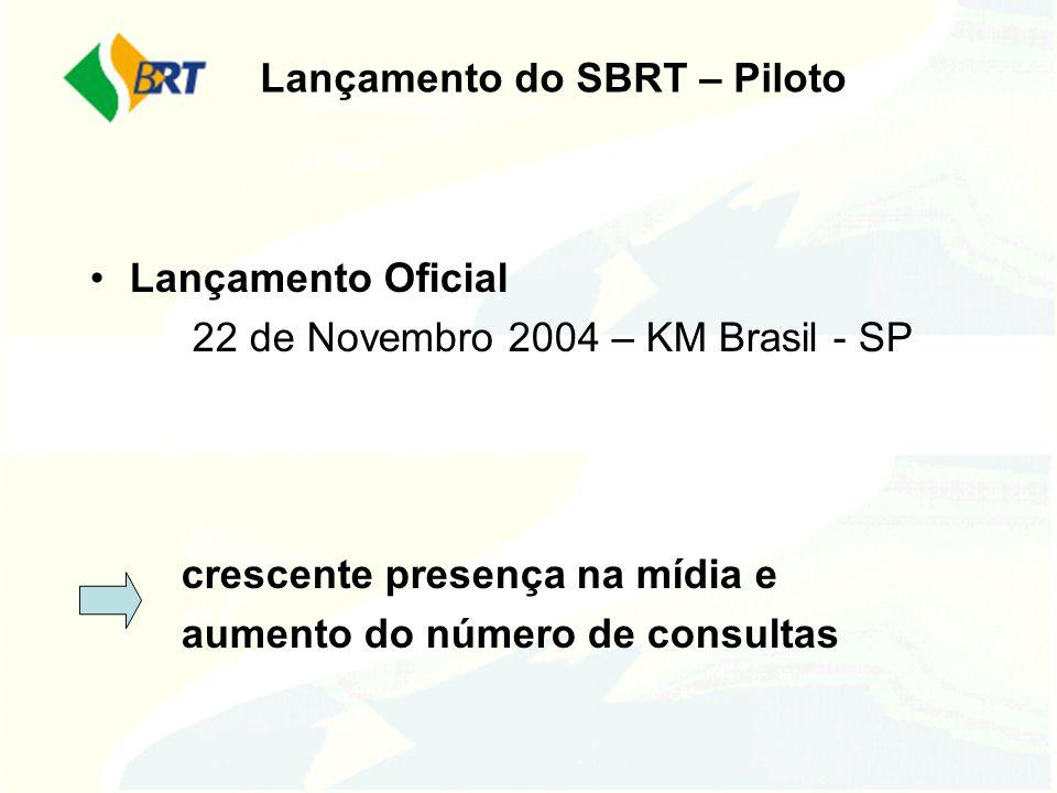 Lançamento do SBRT – Piloto