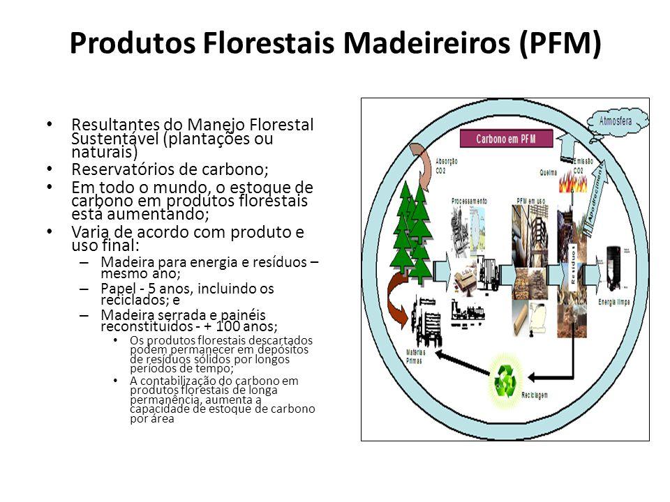 Produtos Florestais Madeireiros (PFM)