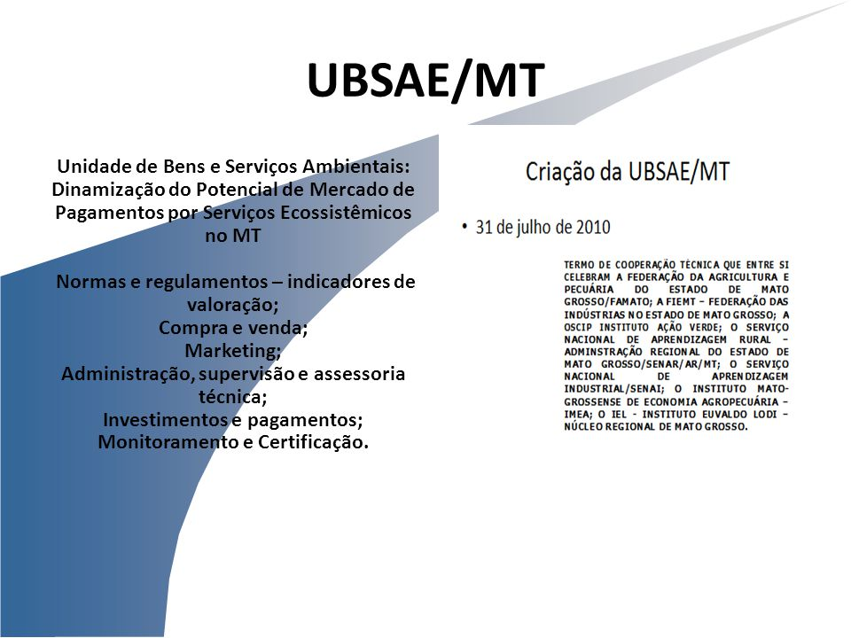 UBSAE/MT