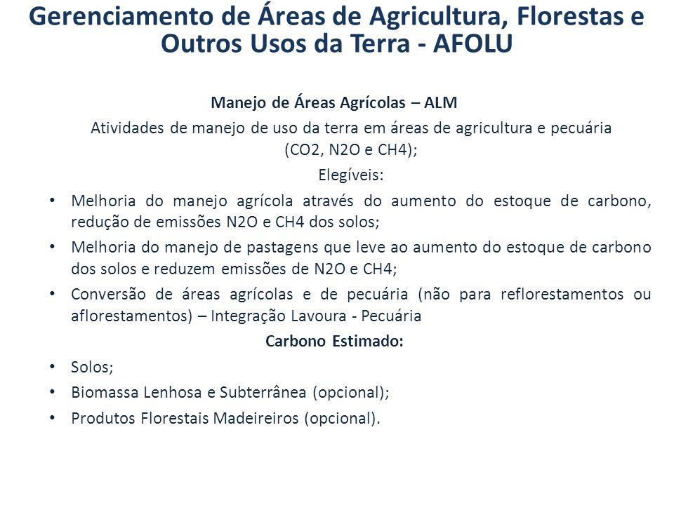 Manejo de Áreas Agrícolas – ALM