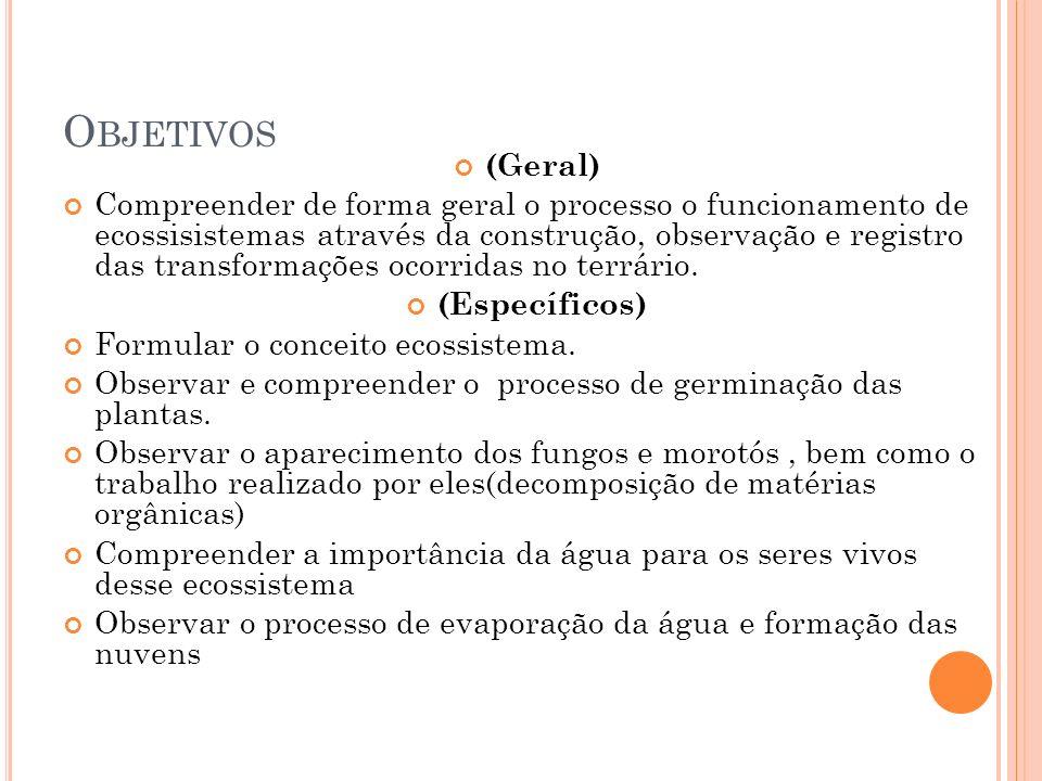Objetivos (Geral)