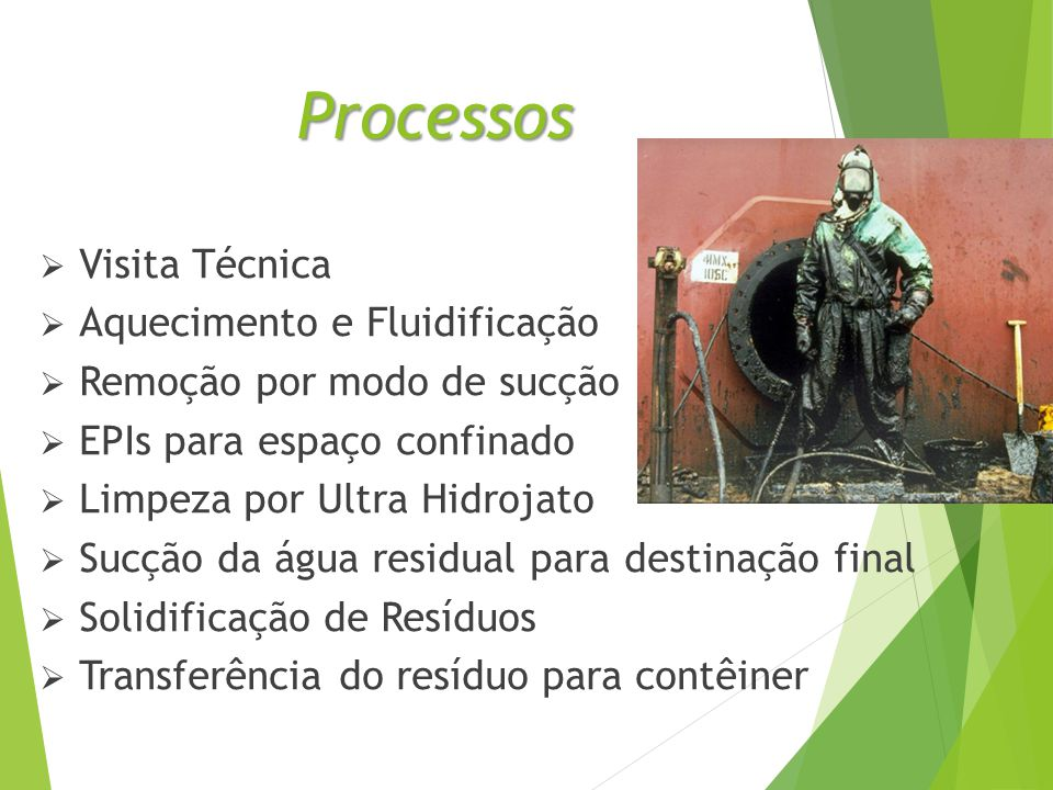 Processos Visita Técnica Aquecimento e Fluidificação