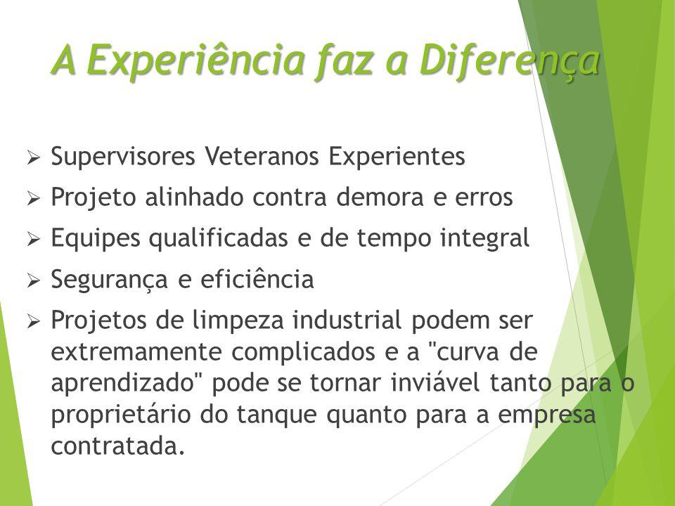 A Experiência faz a Diferença