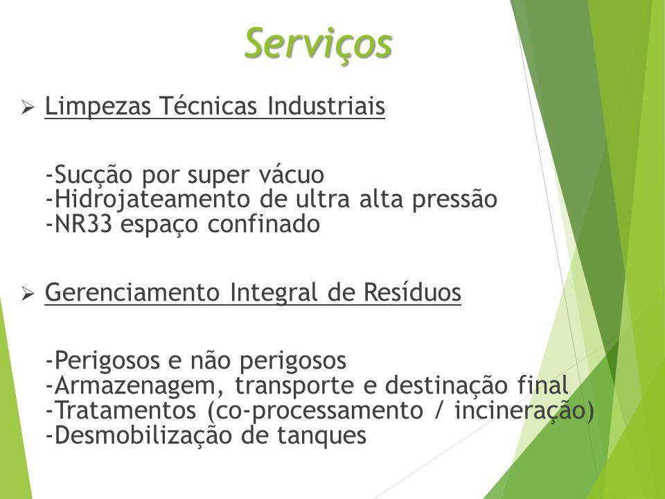 Serviços Limpezas Técnicas Industriais