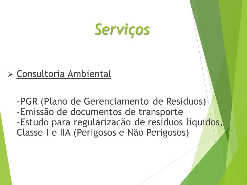 Serviços Consultoria Ambiental