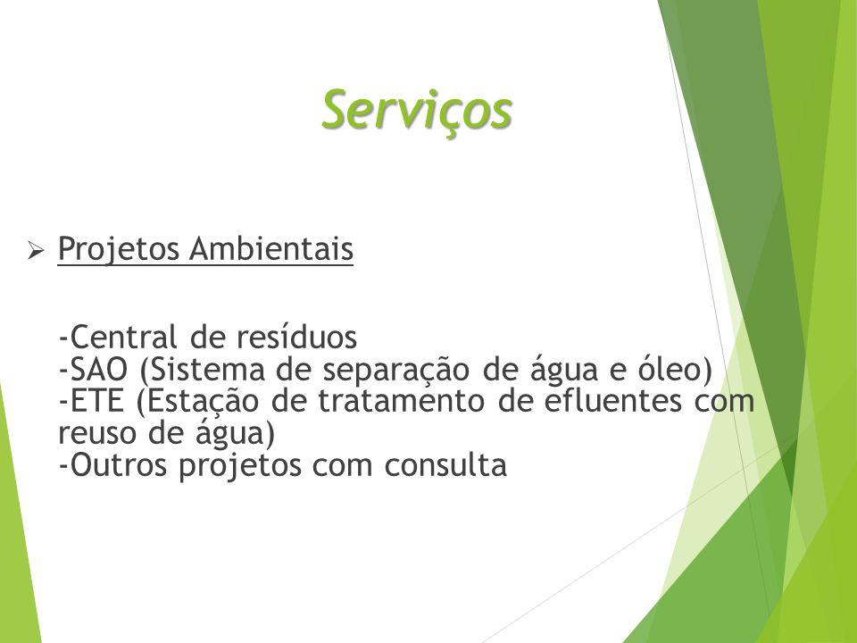 Serviços Projetos Ambientais