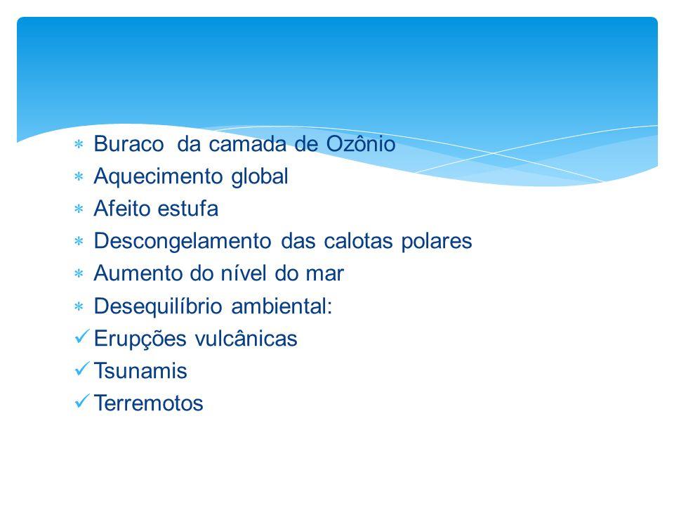 Buraco da camada de Ozônio